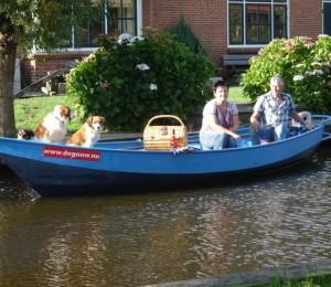 Fluisterboot de Gouw huren in De Rijp, Noord-Holland