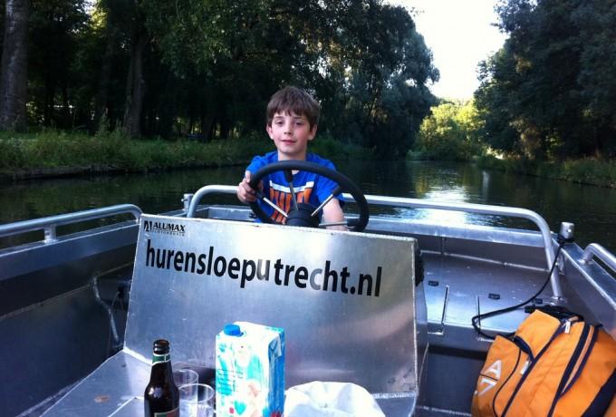 Sloepje huren Utrecht huren in ,