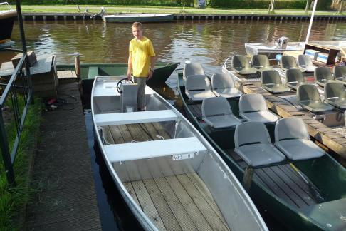 Fluisterboot (stoeltjes) huren in Kalenberg, Overijssel