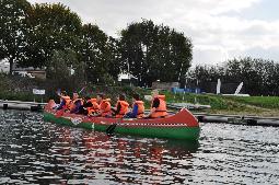 Reuzekajak huren in Ophoven/Kinrooi, Limburg