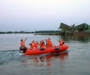 motorboot, 4 persoons