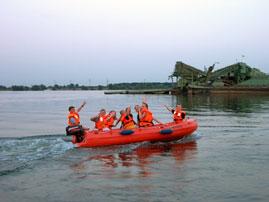 motorboot, 4 persoons huren in Ophoven/Kinrooi, Limburg