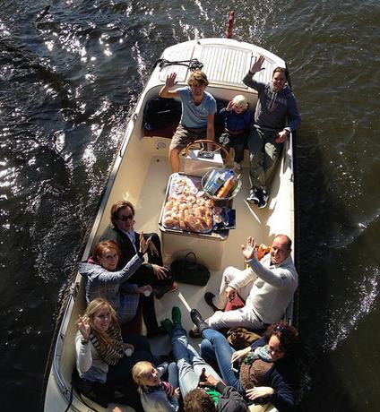 Sloep (10 personen) huren in Breda, Noord-Brabant