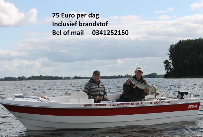 Family visboot huren in Elburg, Gelderland